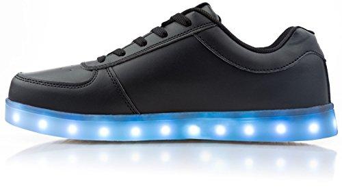 Les Styles Électriques Allument Les Chaussures - Boulon Low Top Noir