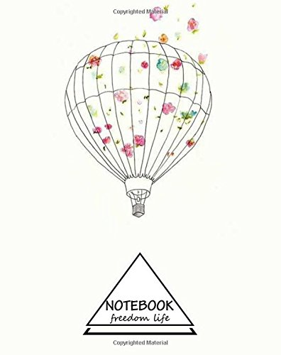 "Read Online Notebook: Flower Balloon : Pocket Notebook Journal Diary, 110 pages, 8"" x 10"" (Notebook Lined,Blank No Lined) pdf"