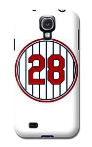 Mlb Minnesota Twins Logo Samsung Galaxy S4 Hard Case - Minnesota Twins Baseball