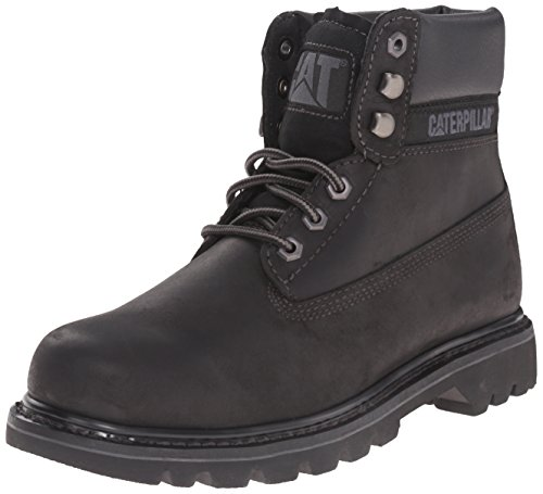 Caterpillar Mens Colorado Black Suede