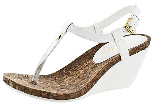 Lauren Ralph Lauren Women's Reeta Wedge Sandal White h2rcCe50b