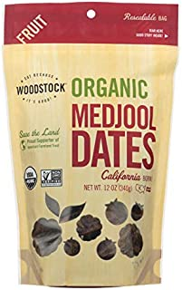 product image for Woodstock Organic Medjool California Fnc Dates 12 Oz. - -Pack of 8
