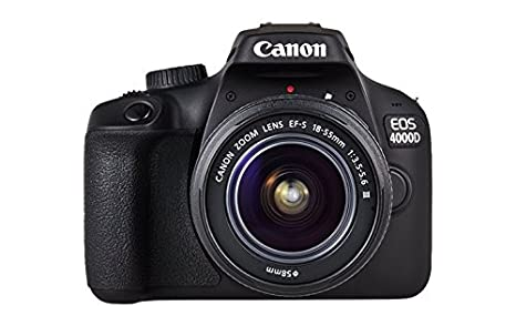 Camara reflex canon 4000d