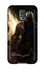 Best 4645152K60401427 Perfect Tpu Case For Galaxy S5/ Anti-scratch Protector Case (dark Souls)