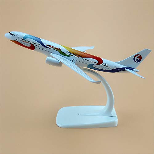 ZAMTAC 16cm Alloy Metal AIR China Eastern Expo Airlines A330 300 Airbus 330 Airways Plane Model Aircraft Airplane Model w Stand