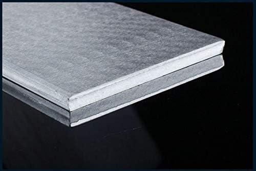 without brand SSB-JIAODAI 1pc Chapa de Aluminio AL 1060 Pure Placa de Aluminio del Marco DIY Material Modelo Piezas de Coches met/álicas for veh/ículos de construcci/ón de Barcos f/ácil Suave