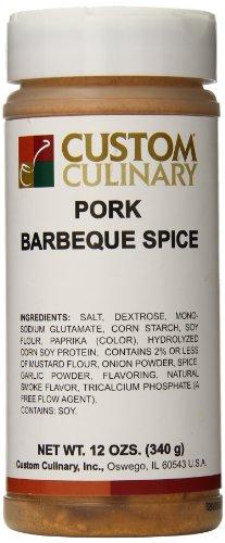 Bbq Pork (Custom Culinary Pork Barbeque Spice, 12 Ounce)