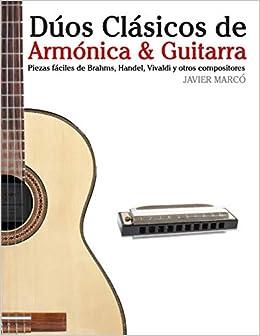 Dúos Clásicos de Armónica & Guitarra: Piezas fáciles de Brahms ...