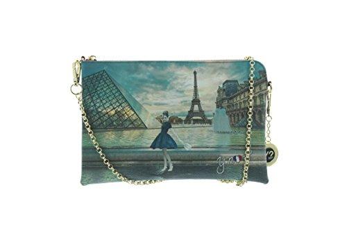 R el K París Y correa puño mano para y mujer con hombro NOT de 303 bolso EAST x7Zqv