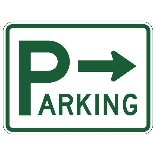 Big P Parking Lot Signs with Right Arrow Retro Vintage Custom Metal Tin Sign Home House Coffee Beer Drink Bar