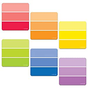 "Creative Teaching Press Painted Palette Paint Chips 3"" Designer Cut-Outs (0824)"