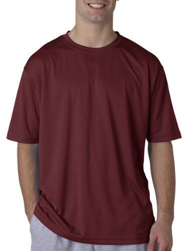 UltraClub Herren T-Shirt Gr. X-Small, kastanienbraun