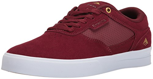 Emerica Empire G6, Color: Burgundy/White, Size: 47 Eu / 13 Us / 12.5 Uk