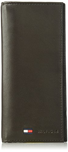 Mens Breast Pocket Wallet - Tommy Hilfiger Men's Sheepskin Secretary Wallet
