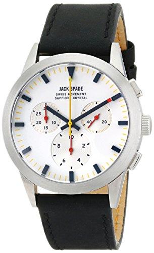 Jack Spade Men's WURU0106 Barrett Analog DisplaySwiss Quartz Black Watch (Jack Spade Watch)