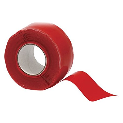 3M High Temperature Resistant Self-Adhesive Electricity Insulation Pipe Excluder Rescue Repair Seal Silicone Tape Garden Soft Water Pipe (Pipe Insulation Thickness)