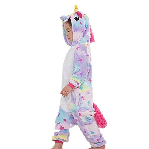 Animali Tostumi Pigiama Vestito Pigiami indumenti Tute Misslight festa adulti Unicorno opportunamente Donne costumi bambini con stella Pigiami unicorno E0xUww1qS
