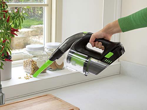 Gtech Multi MK2 Handheld Vacuum Cleaner, 22 V, Grey/Green/Black