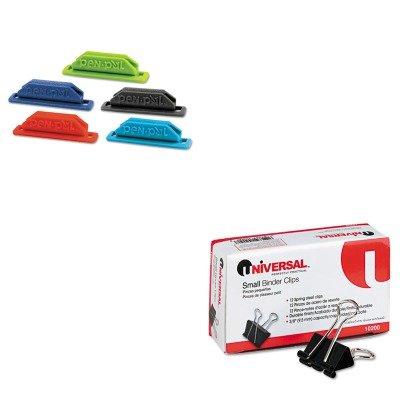 Pen Small Pals (KITTOPPENPAL1UNV10200 - Value Kit - Tops PenPal Rubber Pen/Pencil Holder (TOPPENPAL1) and Universal Small Binder Clips (UNV10200))