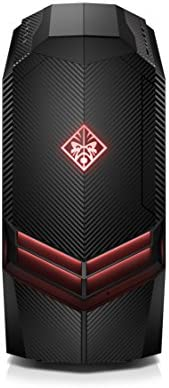 OMEN by HP Gaming Desktop Computer, Intel Core i7-8700K, NVIDIA GeForce GTX 1080 Ti, 16GB RAM, 2TB Hard Drive, 512GB SSD, Windows 10 880-130, Black
