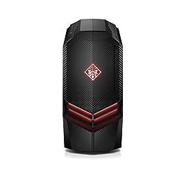 OMEN by HP Gaming Desktop Computer, Intel Core i7-8700 Processor, NVIDIA GeForce GTX 1080 8 GB, 16 GB RAM, 1 TB hard…