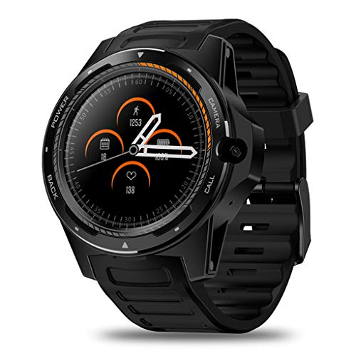 (Kariwell Thor 1.39'' Smart Watch - Quad Core + Nordic 52840 (Dual Chipset Technology) 8.0 MP Camera Pedometer Offline Music Heart Rate Stopwatch Monitor Smart Watch for Android/iOS Kari-226 (Black))