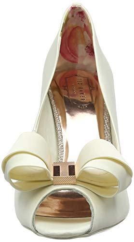 Ivory Vylett Ecru ivory Ouvert Femme Ted Baker Bout Escarpins AxnwTT84q