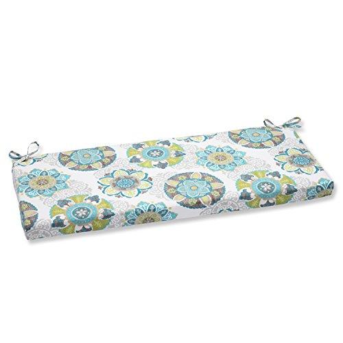 Pillow Perfect Outdoor Allodala Bench Cushion, Oasis