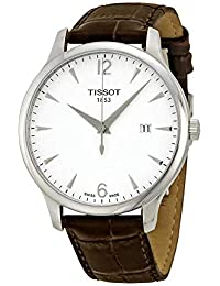 T-Classic Tradition Silver Dial Men's Watch #T063.610.16.037.00