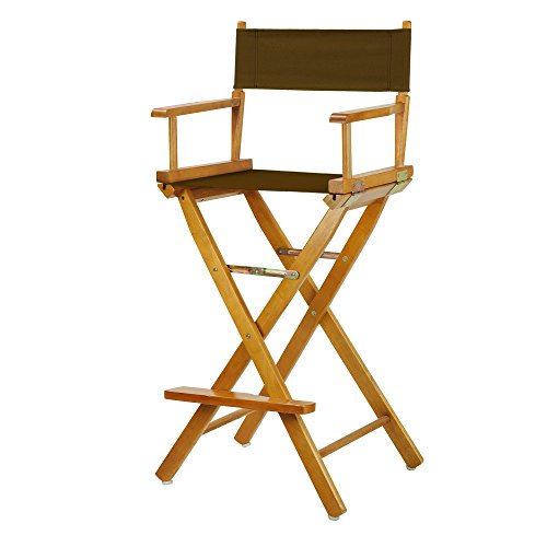 Casual Home 230-05/021-45 Director Chair, 30''-Bar Height, Brown by Casual Home