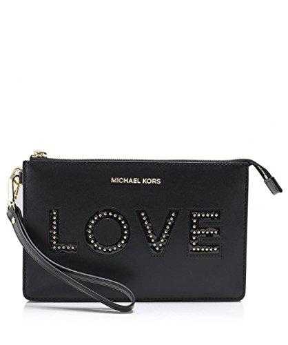 MICHAEL Michael Kors Women's Love Letters Wristlet Black One Size by Michael Kors (Image #7)