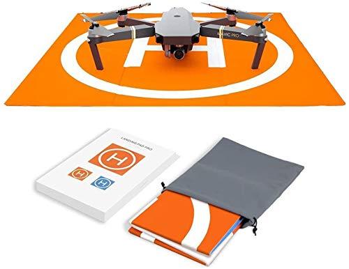 Hensych RC Drone Landing Pad Waterproof PU Portable Foldable Landing Mat for Mavic Air/Mavic Mini 2 /Mavic Pro/Spark…