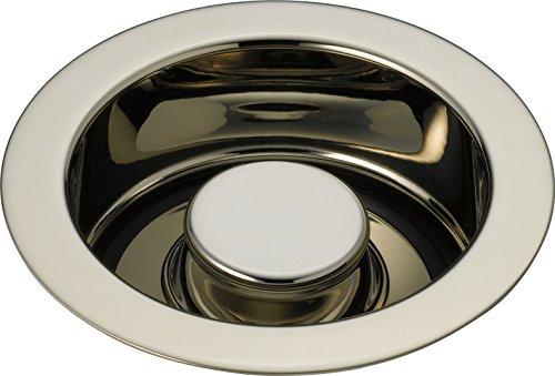 Delta Faucet 72030-PN Disposal and Flange Stopper, Polished (Polished Nickel Soap)