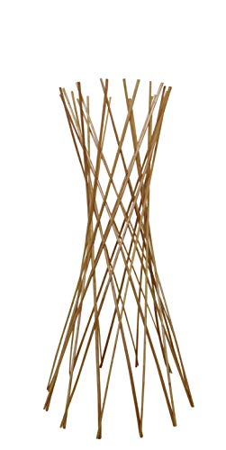 (Master Garden Products Carbonized Barkless Willow Funnel Trellis, 48-Inch)