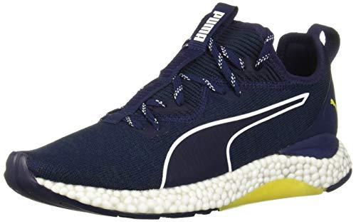 PUMA Men's Hybrid Runner Sneaker ponderosa pine-blazing yellow 8.5 M -