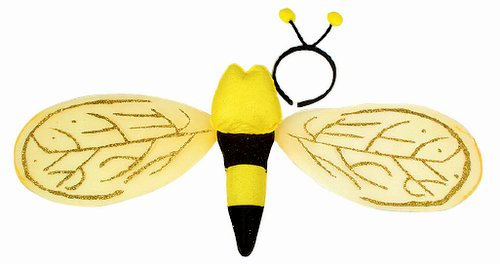 Jacobson Hat Company Bee Wing with Headband Set, 32 x 13 -