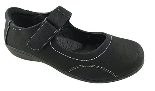 Mc Footwear - Merceditas de Material Sintético para mujer Negro negro