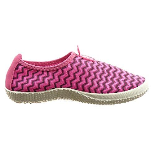 Sopily - Scarpe Da Moda Donna Sneaker Linee Bi-materiale - Nero
