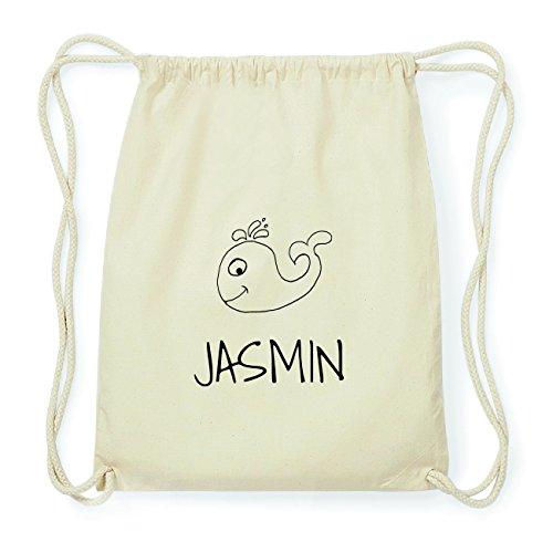 JOllipets JASMIN Hipster Turnbeutel Tasche Rucksack aus Baumwolle Design: Wal W64k9qk