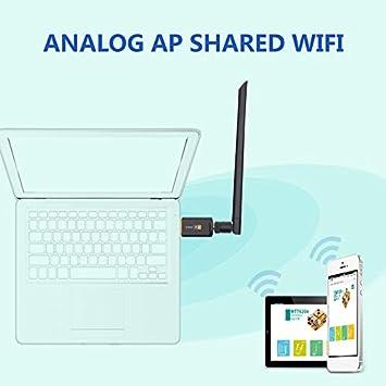 creatspaceES AC 1200Mbps Adaptador USB inalámbrico WiFi ...