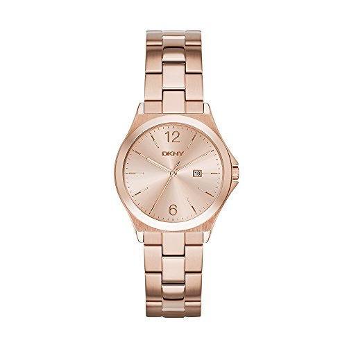 - DKNY Women's NY2367 PARSONS Rose Gold-Tone Stainless Steel Watch