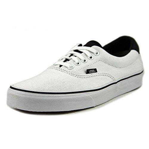 610f27dea5 Vans (C P) Era 59 True White Black VN0003S4JSA Mens 11
