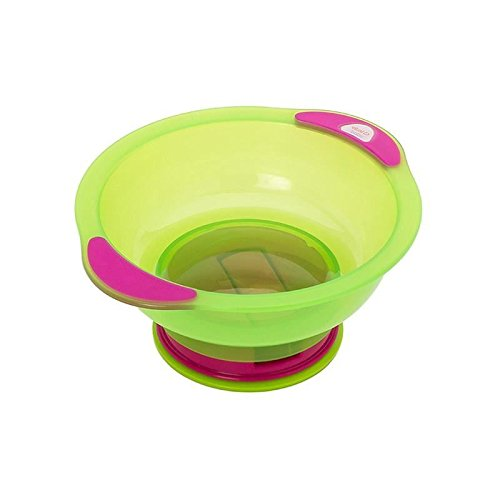 Vital Baby Suction Bowl Unbelievabowl, Pink/Green - Pack of 6