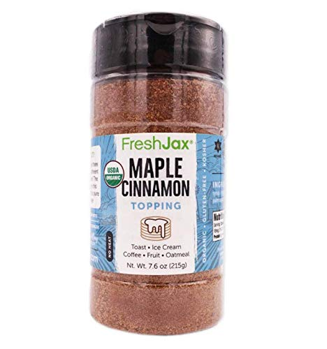 FreshJax Maple Cinnamon Topping