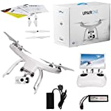 UPair One Drone with 2.7K HD Camera, 5.8G FPV Monitor Transmit Live Video, 2.4G Remote Controller, GPS Auto Return Function, Return to Home 7inch Screen Quadcopter Drone (2.7K)