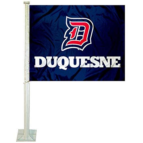 College Flags and Banners Co. Duquesne Dukes Car Flag (Car Duke Flag)