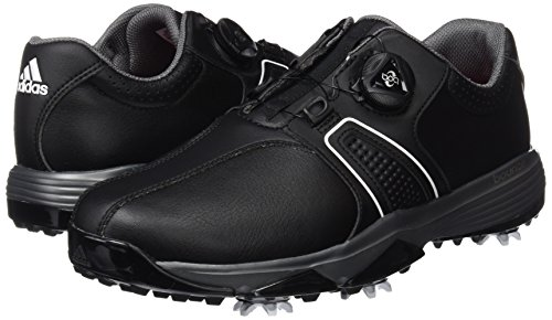 sports shoes b535e 51885 adidas 360 Traxion Boa WD Zapatos de Golf, Hombre, NegroPlataBlanco,  41.3 Amazon.es Zapatos y complementos