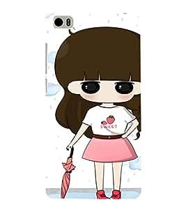 EPICCASE Sweet little girl Mobile Back Case Cover For Xiaomi Mi5 (Designer Case)