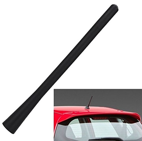 3 universelle Gewinde Adapter M4 M5 und M6 somit passend f/ür fast alle Auto. INION/® 18cm Kurzstabantenne Radio Antenne Autoantenne Dachantenne Stabantenne Kurzantenne Fahrzeugantenne f/ür Radioempfang AM//FM Inkl