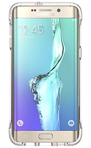 Evo Frame Case for Galaxy S6 Edge+ Clear/White
